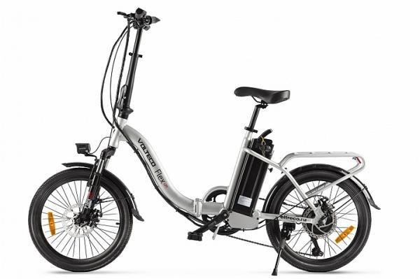 Велогибрид Volteco FLEX UP! Белый