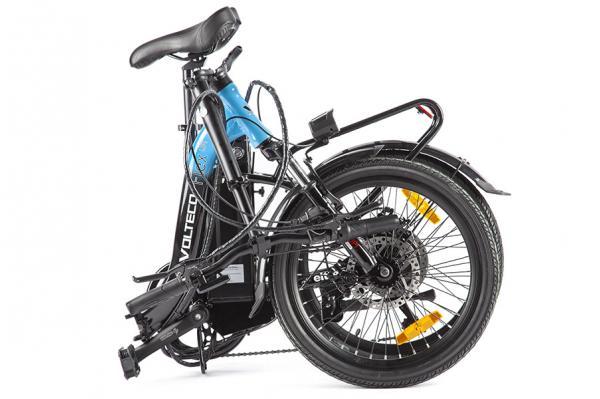 Велогибрид Volteco FLEX UP! Черно-желтый