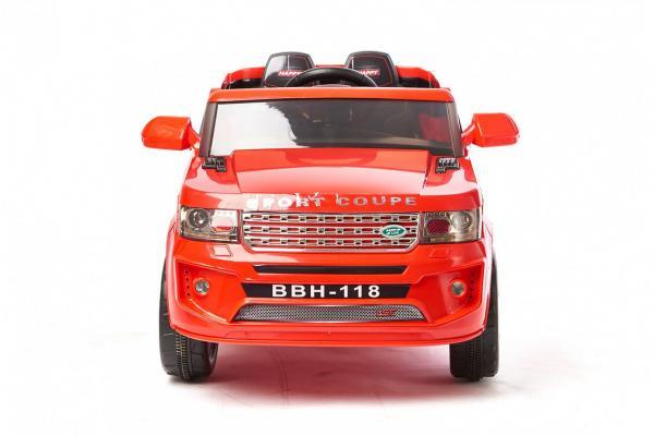 Электромобиль Range Rover BBH 118 Красный