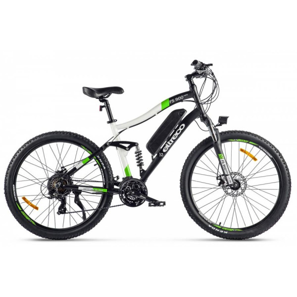 Велогибрид Eltreco FS900 new Зелено-белый