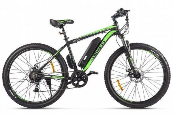Велогибрид Eltreco XT 600 D Черно-зеленый