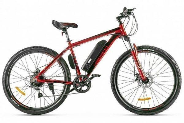 Велогибрид Eltreco XT 600 D Красно-черный