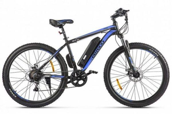 Велогибрид Eltreco XT 600 D Черно-синий