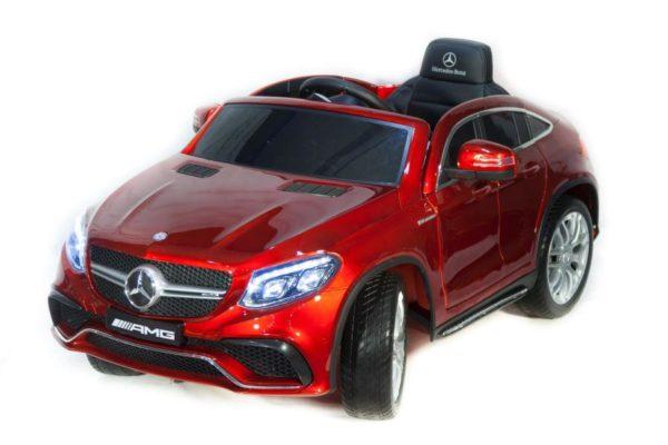 Электромобиль Mercedes-Benz AMG GLE63S Coupe Красный (краска)