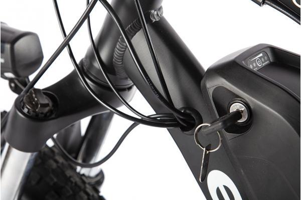 Велогибрид Eltreco FS900 new Черно-красный