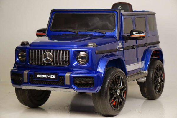 Электромобиль Mercedes-Benz G63 4WD K999KK Синий глянец