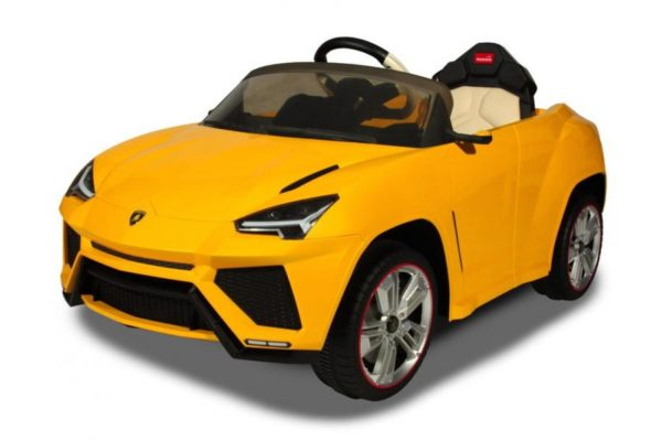 Электромобиль Lamborghini Urus Желтый