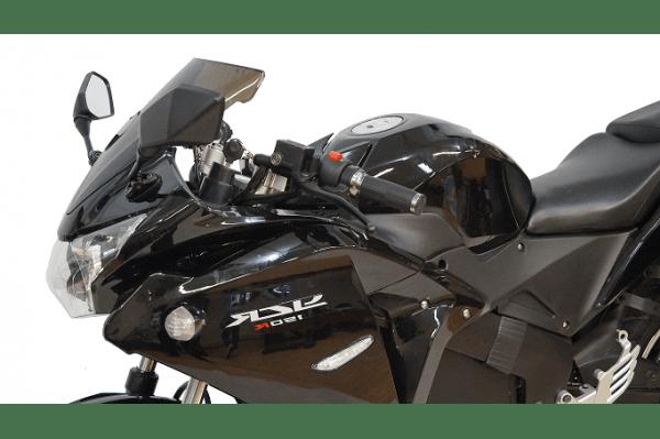 Электромотоцикл YCR-3000W черный с красным