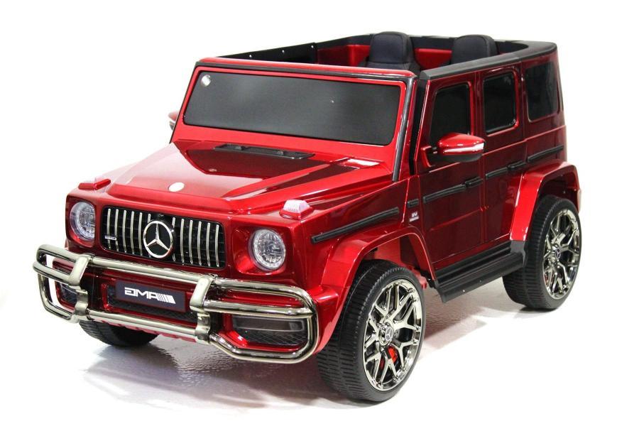 Электромобиль Mercedes-Benz G63 4WD (S307) Вишневый глянец