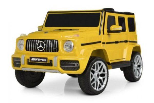 Электромобиль Mercedes-Benz G63 T999TT Желтый